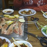 Buffet Korean BBQ at its best. Lovely fresh meat and accompaniments, efficient staff, bustling o