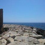 Pafos woda i kamienie