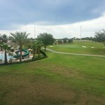 From our Villa Balcony - Pool and Golf Course
