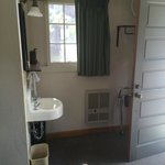 Room and Wash Area