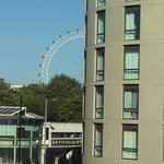 view from room - london eye