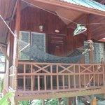 bungallow A4: vue de dehors
