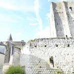 Der Donjon der Festungsanlage