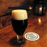 Kamarade Baltic Porter in the Schilling Beer Co. taproom