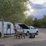 Boulder Creek RV Resort and view of Lone Pine Peak