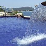 The main pool: Santa Ponsa in background