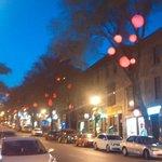 Rue St Denis - outside hotel