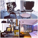 Room n hotel lobby