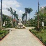 Walkways to the pool, lobby , dinning halls