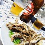 Aperitivo d'Amare, birra e Alicette fritte!