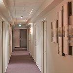 Couloir chambre confort