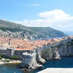 Dubrovnik and the walls.