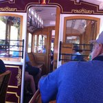 Riding on the Trolley Tour