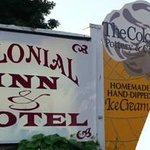 Colonial Inn & Motel Front Sign