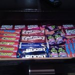 Scrummy secret chocolate drawer!