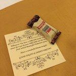 Ежедневный комплимент-конфета от отеля