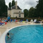 Lovely chateau by pool