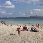 Playa de Muro  on a perfect day