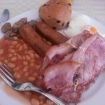 Typical English Breakfast... nice enough.
