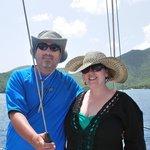 Sailing around St. John