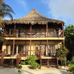 The beachfront room, where we stayed our last night
