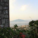 veduta del Vesuvio dalla Terrazza di Casarufolo Paradise