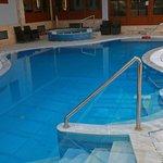 Nostos Hotel indoor pool