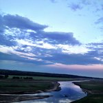 The Des Moines River from the High Trestle Bridge