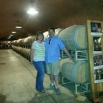 The wine cave at Benzinger Family Winery (08/2014)