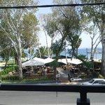 View of Varkiza port, from the 1st floor balcony !!!