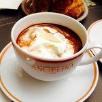 Le fameux chocolat chaud...