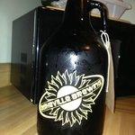 Growler of Backstage Betty Blonde