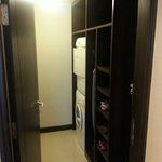 放置了洗衣機及乾衣機的房間