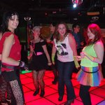 80's themed hen night in Boogie Wonderland