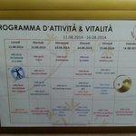 Planning settimana