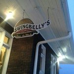 Signage Noting You Have Arrived @ Swingbelly's