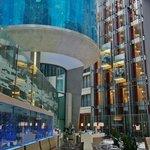 Lobby aquarium