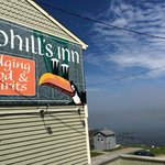 Cohill's Inn sign
