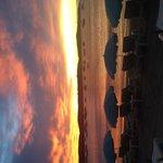 Lever de soleil tamaris beach
