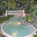 La piscine jacuzzi