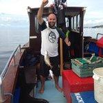 A proud fisherman!