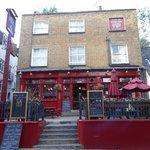 Un petit pub bien typique de Hampstead