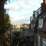 Le coucher du soleil sur Londres