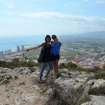 Me and Simona in Cullera