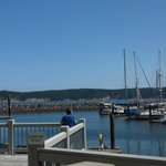 View from Dockside Grill on Sequim Bay