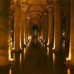 2 mins from hotel the Basilica Cistern (Bond was filmed here)