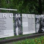 Panel de las cascadas de Trummelbach
