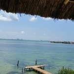 Hermosa vista a la laguna Nichupté