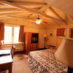Two room cabin: Smaller room
