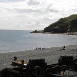 Porthkerris beach